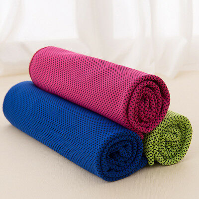 Cooling Towel Ice Cold Instant Enduracool Running Jogging Gym Chilly Pad Sports