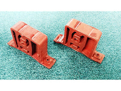 MINI COOPER ONE EXHAUST Middle RUBBER MOUNT HANGER SILENCER HEAVY DUTY x 2
