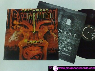 Testament The Gathering 1999 Vinyl Collectors Vc009  Holland Lp With Insert