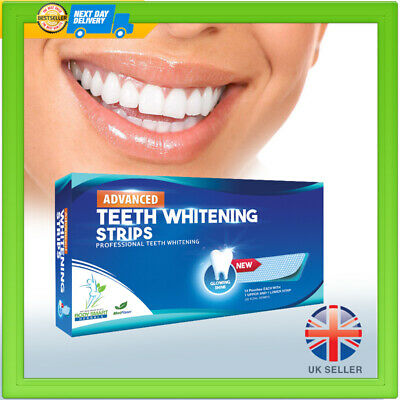 28 Teeth Whitening Strips Advanced 3D Whitening Home Teeth Strips