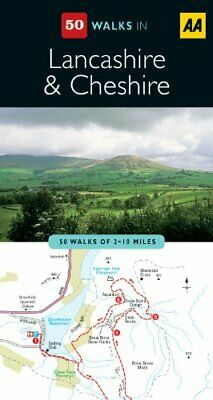 Lancashire & Cheshire (AA 50 Walks Series) by AA Publishing Paperback Book The