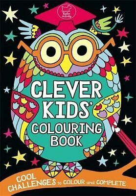 The Clever Kids' Colouring Book, Dickason, Chris Book The Cheap Fast Free Post