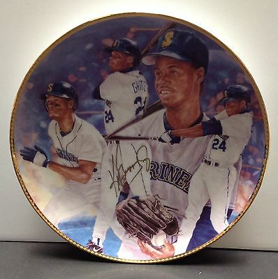 Ken Griffey Jr. Signed Seattle Mariners Collector's Plate - PSA/DNA # K22342