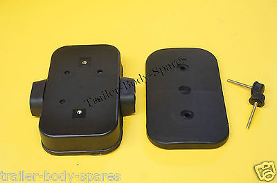 Trailer & Horse Box Waterproof Junction Box for 12v Electrical 120mm x 70mm