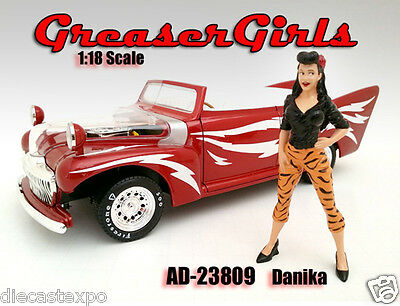 Greasers Girl - Danika 1:18 Scale