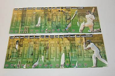 1995/96 Futera Cricket There's No Limit complete set of 30 insert cards