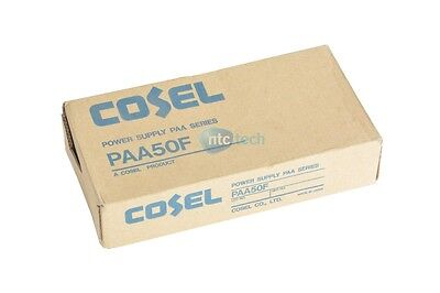 New Cosel PAA50F-12 12V 4.3A AC-DC Power Supply