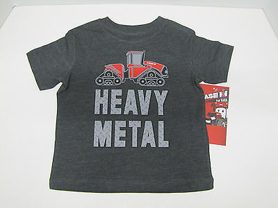 "Case IH /""My Other Car Seat/"" Heather Blue Toddler T-Shirt Sizes 3T or 5T"