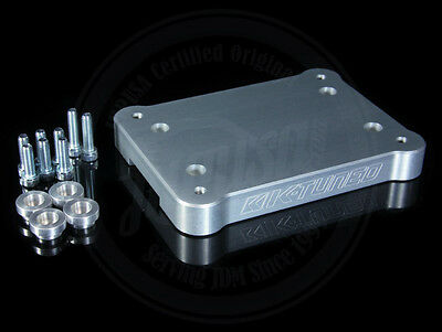 K-Tuned Billet Shifter Base Plate 2002-2006 Acura Rsx Type-S K-Series K20A