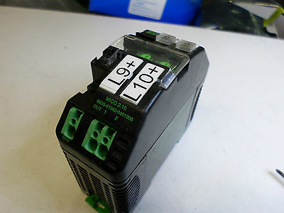 Murr Elektonik -- Mico Electronic Auxiliary Circuit - 2 Channel Current Monitor