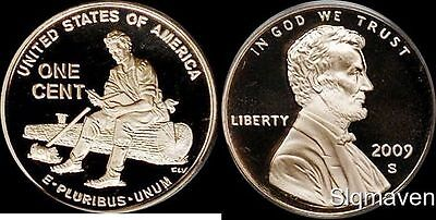 2009 S Lincoln Cent Formative Years Deep Cameo Gem Proof