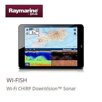 Raymarine Wi-FiSH black box WiFi DownVision Sonar inducing CPT-DV E70290 NEW