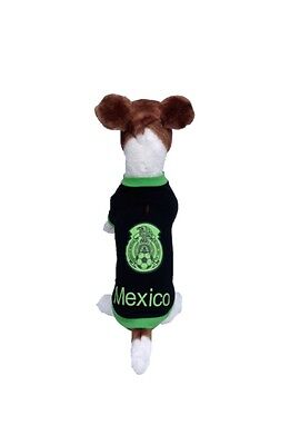 Dog soccer jersey Mexico-The World Cup 2018