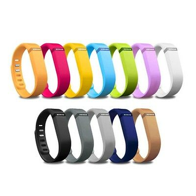 Large/ Small Size Replacement Wrist Band With Clasp For Fitbit Flex Bracelet US