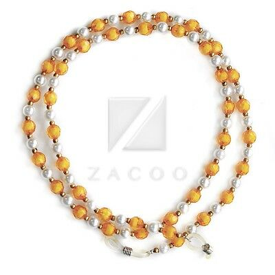 60cm 24'' Arylic Sunglasses Spectacle Beads Chain Strap Cord Holder Neck Lanyard