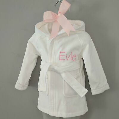 NEW Baby Gift Hampers Personalised Boy's & Girl's Baby Bath Robe