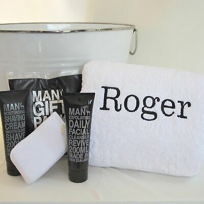 Personalised Gift Hamper for Him Bath Set