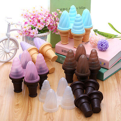 New Plastic Ice Cream Modelling DIY Popsicle Cone ICE Molds Mould Tool