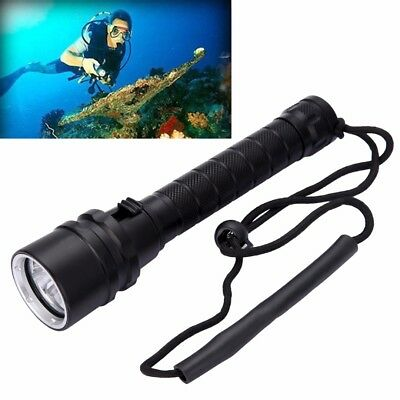 8000LM 3x XML L2 LED Waterproof Scuba Diving Underwater Flashlight Torch Lamp