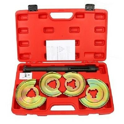 Mercedes Benz Suspension Coil Spring Compressor Repair Tools Set Cadmium Plated