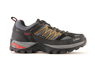CMP Hiking shoes Hiking shoe Lace-ups grey waterproof Textile Laces