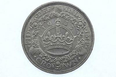 1933 King George V .500 Silver Crown Lot F3