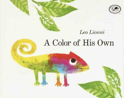 A Color of His Own by Leo Lionni (English) Prebound Book Free Shipping!