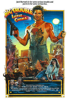 Big Trouble In Little China Poster Print Borderless Stunning A1 A2 A3 A4