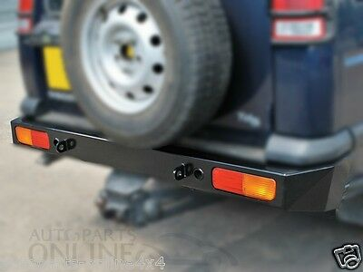 Land Rover Discovery 2 - Heavy Duty Rear Bumper Tow Eyes Offroad - Da5646
