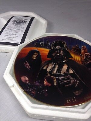 Star Wars Plate Darth Vader Heroes And Villains Plate  Collection