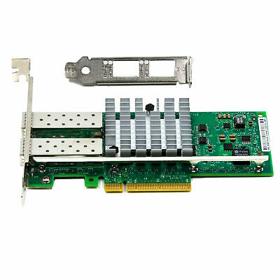 Intel X520-DA2 10 Gigabit NIC 10GBe SFP+ Dual Port Server Adapter E10G42BTDA