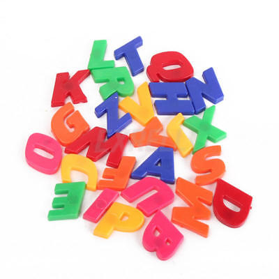 78Pcs Magnetic Capital & Lowercase Alphabet English Letters Numbers Learning Toy