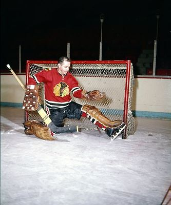 Glenn Hall Chicago Black Hawks  Unsigned 8x10 Photo
