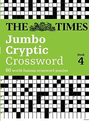 The Times Jumbo Cryptic Crossword : Book 4 by Laws, Mike Paperback Book The