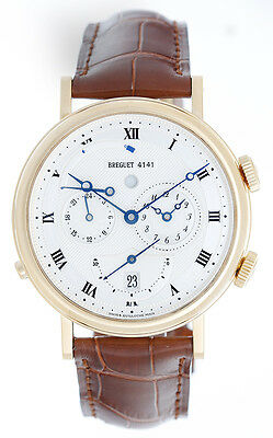 Breguet Classique Alarm Le Reveil Du Tsar Men's 18k Gold Watch 5707BA/12/9V6