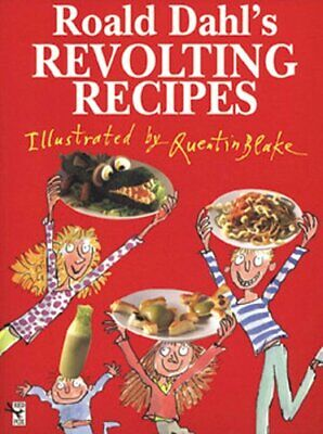 Roald Dahl's Revolting Recipes, Dahl, Roald Hardback Book The Cheap Fast Free