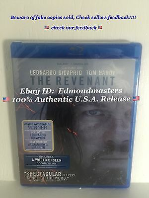 The Revenant (2016 Blu-ray + DIGITAL HD ) Brand New Sealed Ships out Fast!