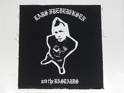 "RANCID: Lars Frederiksen and the Bastards BACK PATCH 12"" Large XL Sew On jacket"