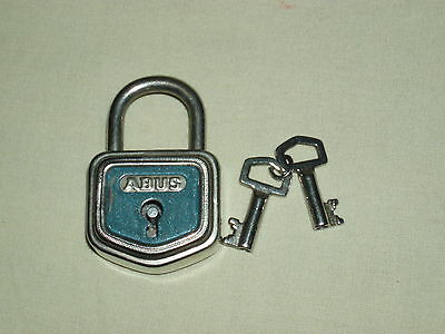 antique padlock metal small scarce ABUS No. 105 / 30mm MADE IN GERMANY DER!