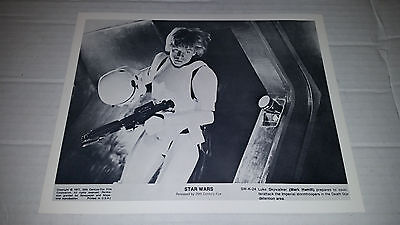 1977 Vintage Star Wars Black and White Lobby Card SW-K-24