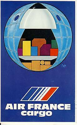 Carte Postale / Postcard / Aviation / Illustrateur Pages / Air France
