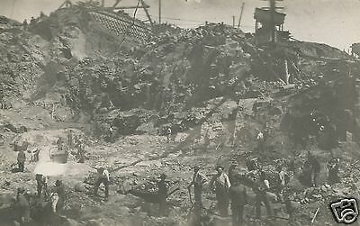 Antique Vintage Mining Miners Gold ? Silver ? Occupational Pit Pick Rppc Photo