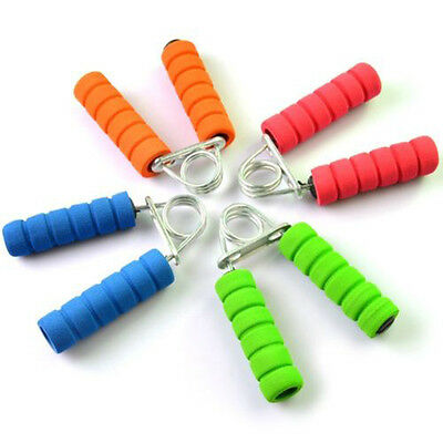1x Sponge Handle Hand Grippers Bar Arm Wrist Strength Training Exercise Fitness