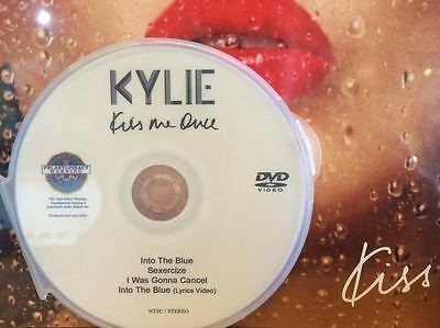 Kylie Minogue DVD music video SEXERCIZE Into the blue I was gonna cancel