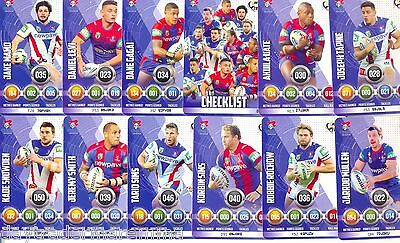 2016 NRL ESP Power Play Xtreme team set of 12 cards - Knights