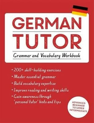 German Tutor: Grammar and Vocabulary Workbook by Edith Kreuter Paperback Book (E