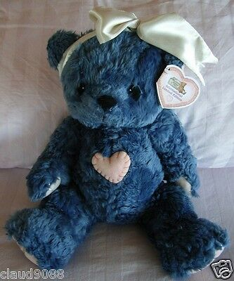 "Cherished Teddies ""blue Plush International Limited Edition Exclusive-Rare  New"