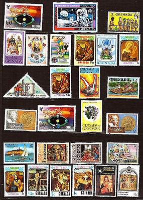 GRENADA  Timbres neufs ,usages courants ,sujets divers F350
