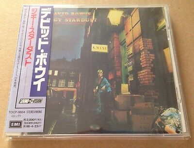 David Bowie - The Rise & Fall Of Ziggy Stardust Japanese Cd +OBI Strip +Booklet