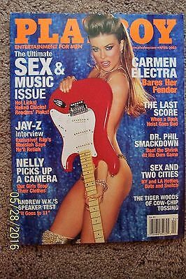 Playboy Magazine - April 2003